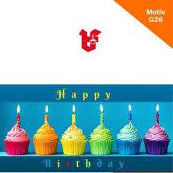 Klappkarte Geburtstag Motiv G26