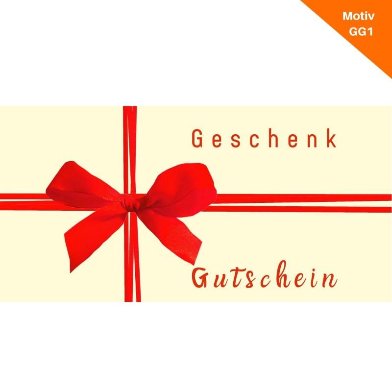 Geschenkgutschein Motiv GG1