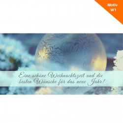 Weihnachtskarte Motiv W1
