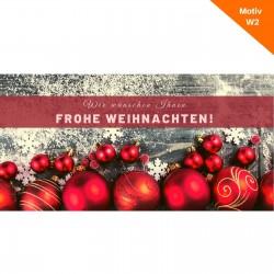Weihnachtskarte Motiv W2
