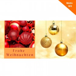 Weihnachtskarte Motiv W3