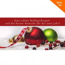 Weihnachtskarte Motiv W5