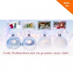 Weihnachtskarte Motiv W7