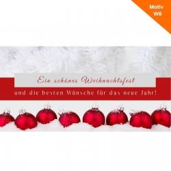 Weihnachtskarte Motiv W8