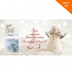 Weihnachtskarte Motiv W9