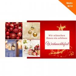 Weihnachtskarte Motiv W10