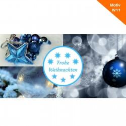 Weihnachtskarte Motiv W11
