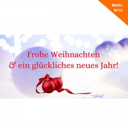 Weihnachtskarte Motiv W12