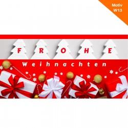 Weihnachtskarte Motiv W13