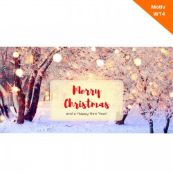 Weihnachtskarte Motiv W14