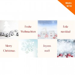 Weihnachtskarte Motiv W16