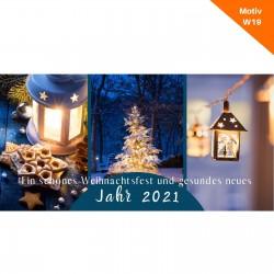 Weihnachtskarte Motiv W19