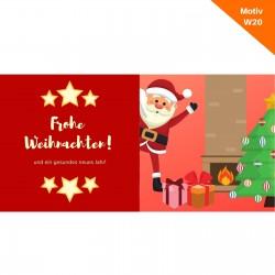Weihnachtskarte Motiv W20