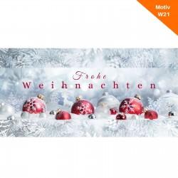 Weihnachtskarte Motiv W21
