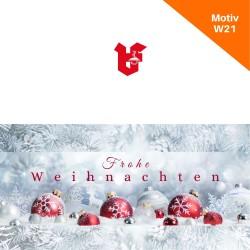 Klappkarte Weihnachtskarte Motiv W21