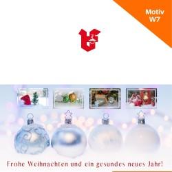 Klappkarte Weihnachtskarte Motiv W7