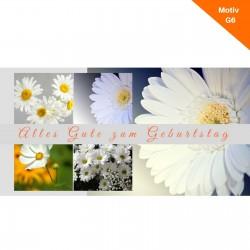 Geburtstagskarte Motiv G6