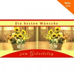 Geburtstagskarte Motiv G12