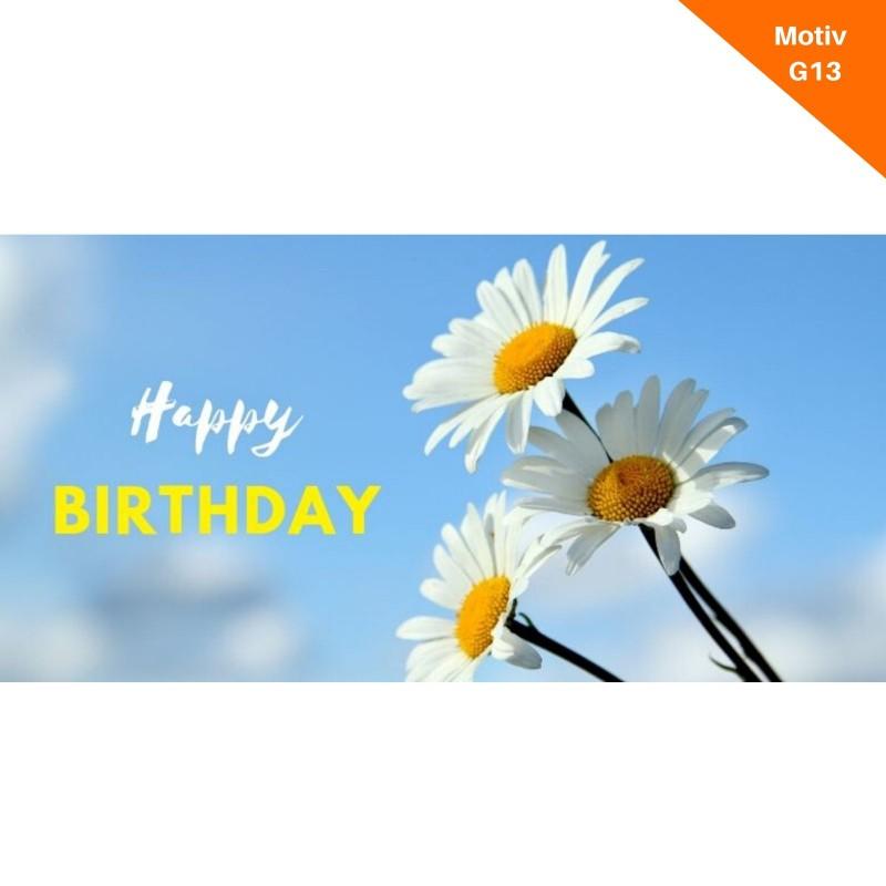 Geburtstagskarte Motiv G13