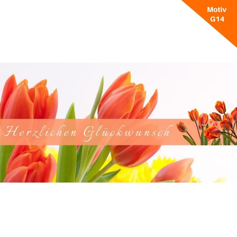 Geburtstagskarte Motiv G14