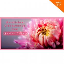 Geburtstagskarte Motiv G17
