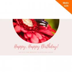 Geburtstagskarte Motiv G25