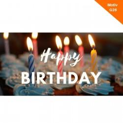 Geburtstagskarte Motiv G26