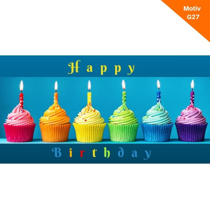Geburtstagskarte Motiv G27
