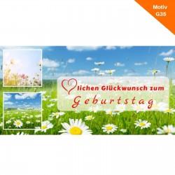 Geburtstagskarte Motiv G35
